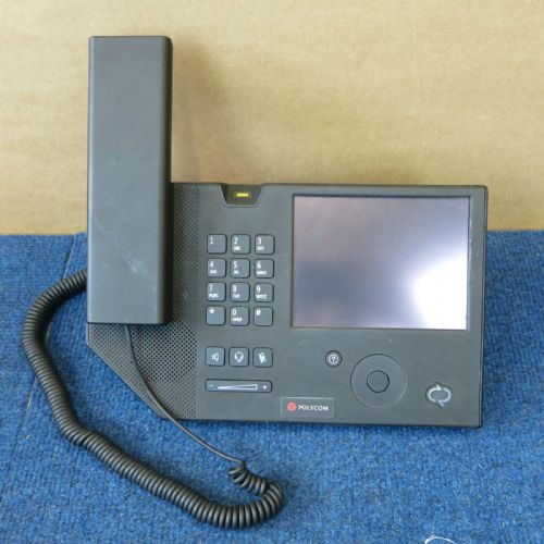 Polycom CX700 IP VoIP Business Desktop Phone 1668-31001-002 + Handset & PSU